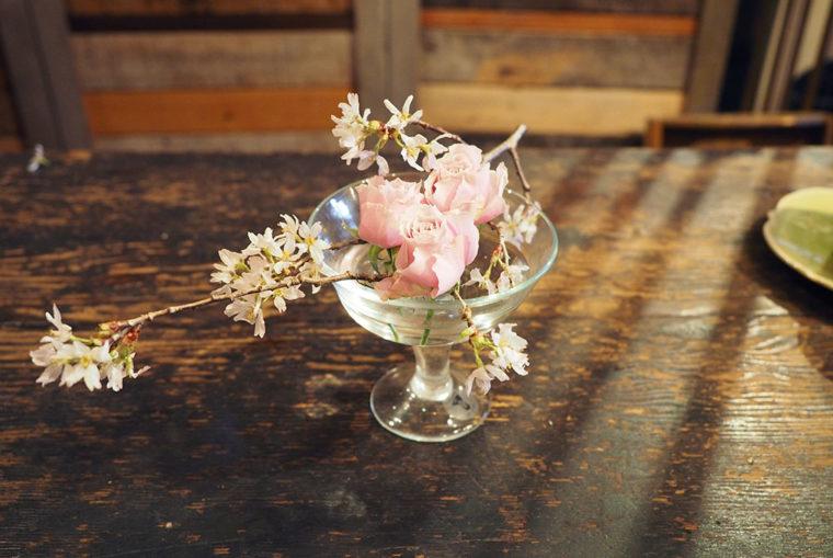 日常の花あしらい