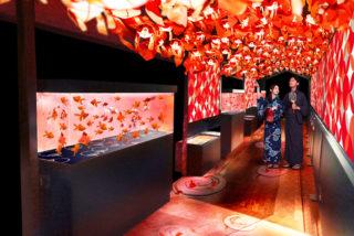すみだ水族館 「東京金魚ワンダーランド」