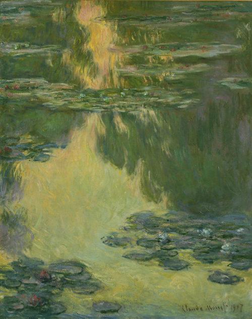 クロード・モネ 《睡蓮》 1907年