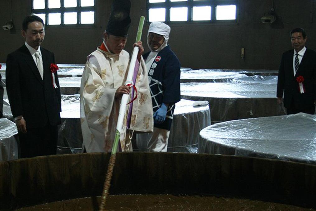 ヤマキ醸造 田植式・櫂入れ式