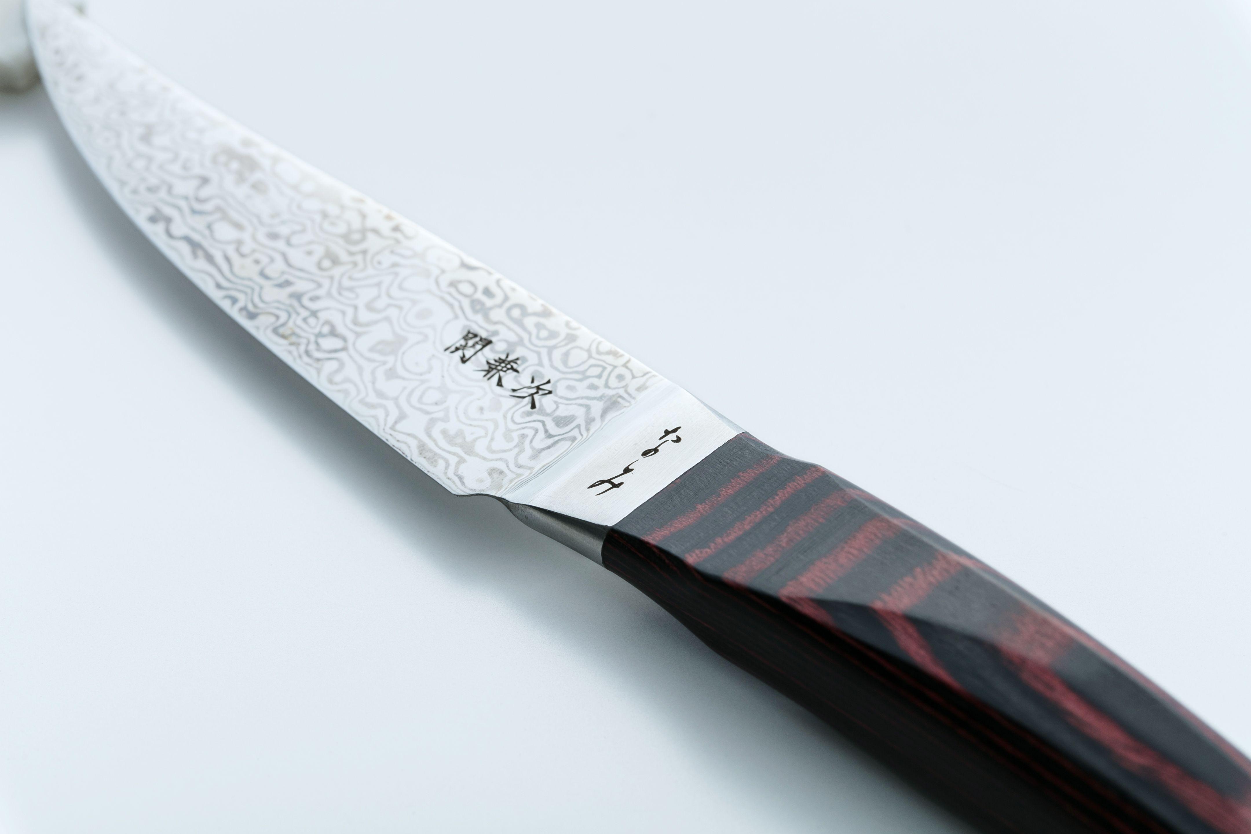 コアレスダマスカス ナイフ