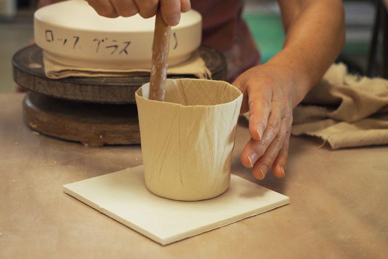 ceramic mimic fabric