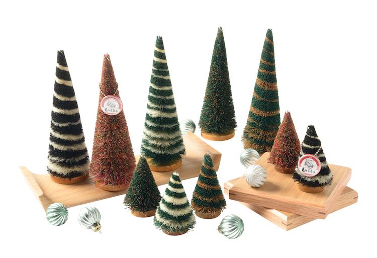 亀の子たわし クリスマスツリー