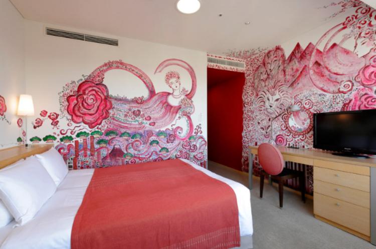 パークホテル東京のアーティストルーム