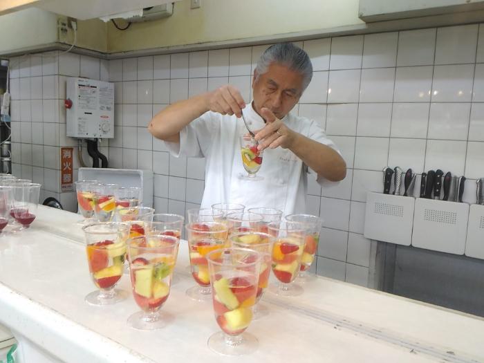 フルーツアーティスの杉山清さん