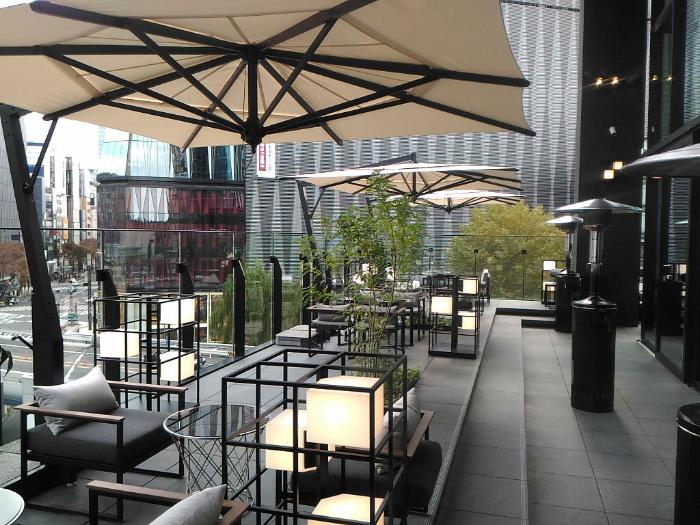 ザ・ゲートホテル東京のテラス