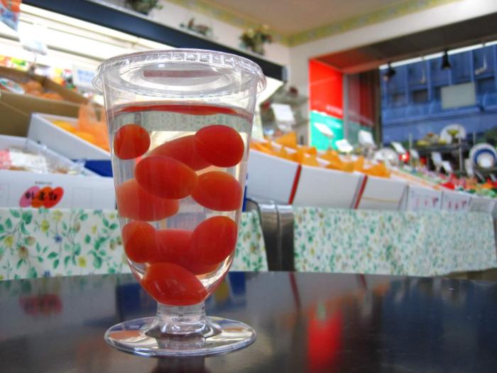 高糖度トマトの生ゼリー