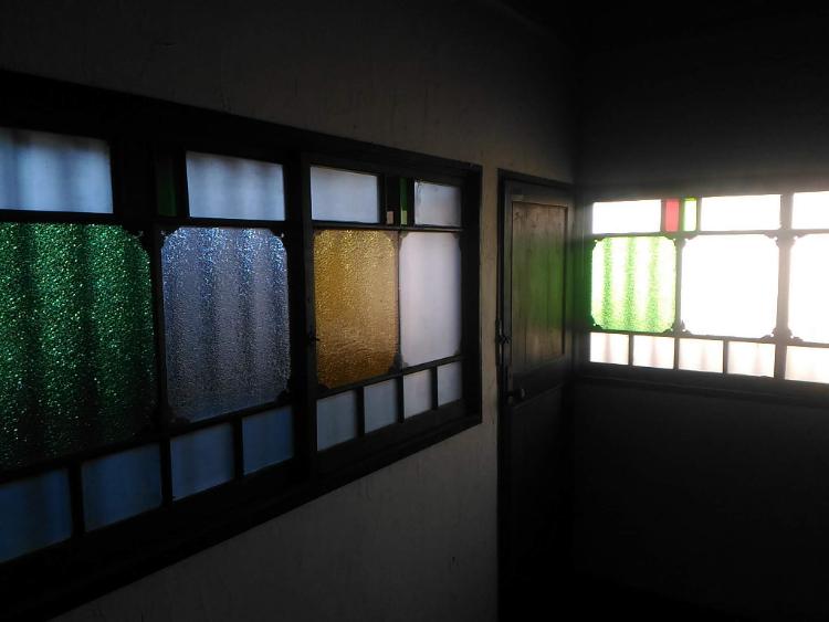 日光珈琲 玉藻小路のステンドグラス
