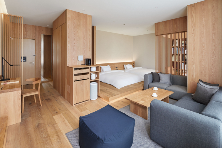 MUJI HOTEL GINZAの客室1