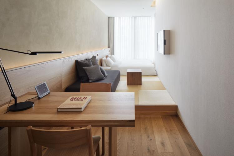 MUJI HOTEL GINZAの客室2
