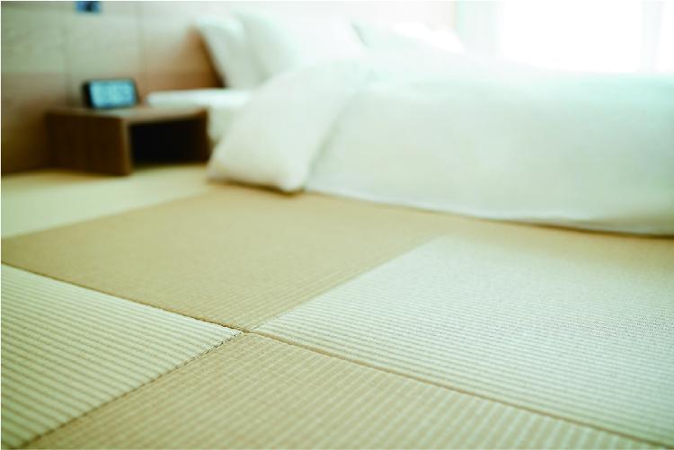 MUJI HOTEL GINZAの畳敷き客室