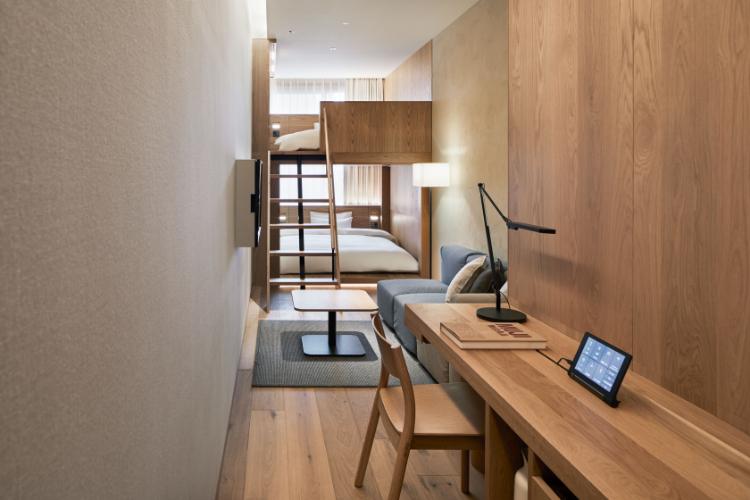 MUJI HOTEL GINZAの客室6