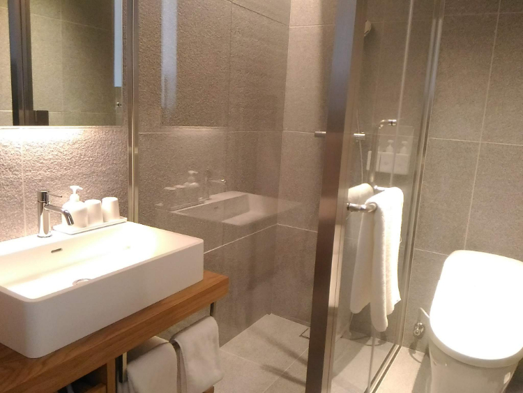 MUJI HOTEL GINZAのバスルーム