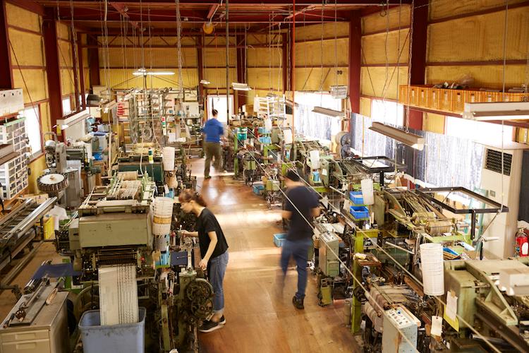 工房織座 工場
