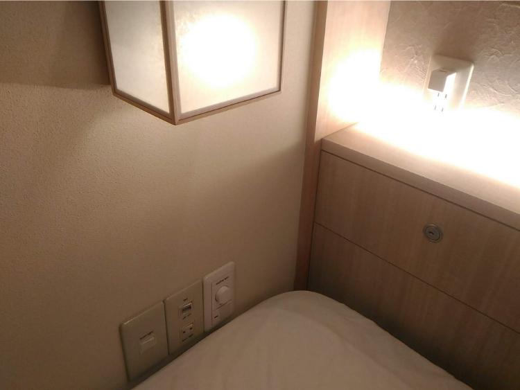 hotel zen tokyo(ホテル ゼン トーキョー)客室のセキュリティーボックス
