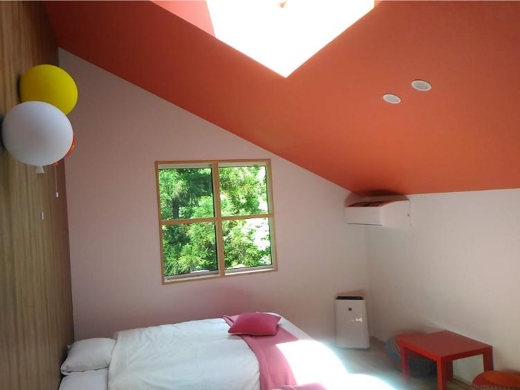 「アップルオレンジ」の客室