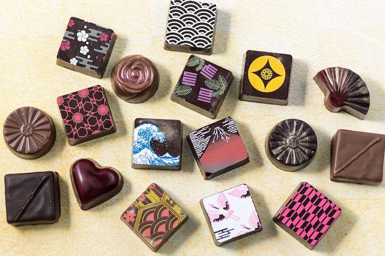 ショコラティエ川路 葛飾北斎チョコレート