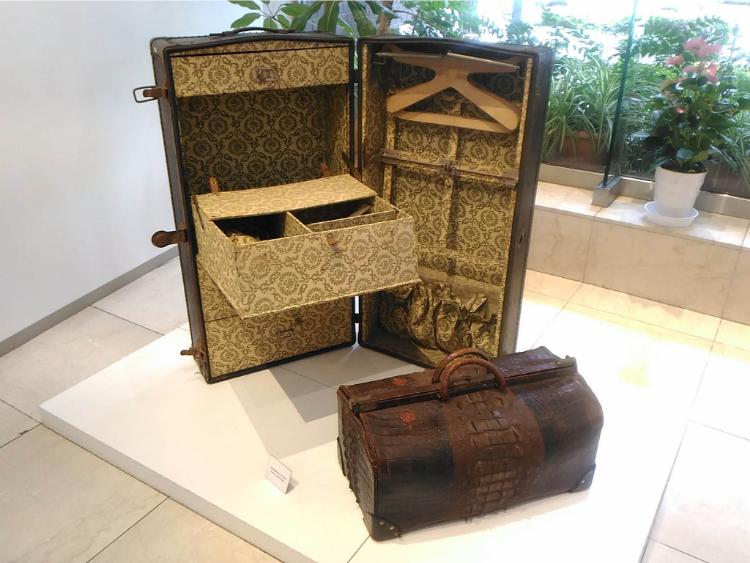 世界のカバン博物館ワードローブトランク