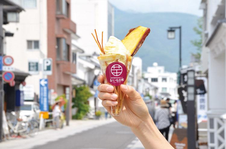 松本ケンピ 信州りんごの黄金ソース ソフト