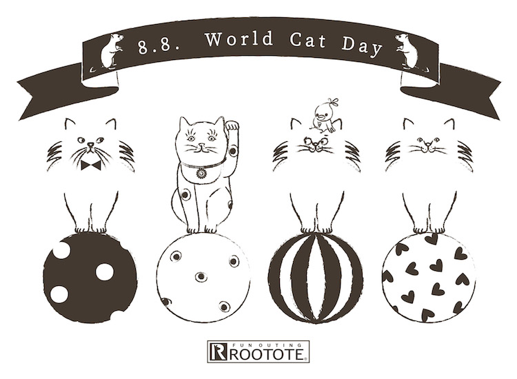 世界猫の日 world cat day