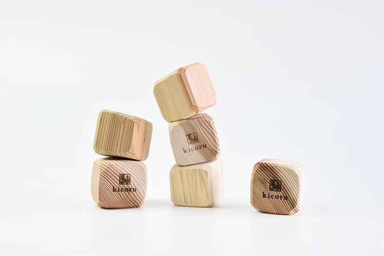 kicoru|積めん木 20個入り
