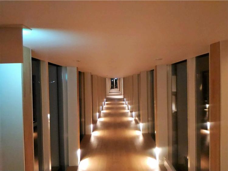 ショウナイホテルスイデンテラス回廊
