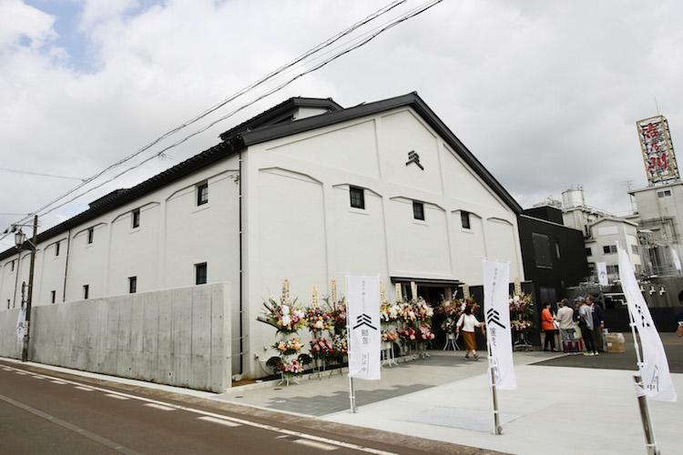 酒ミュージアム「醸蔵」 外観
