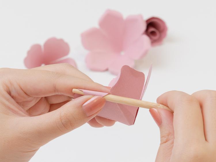 花咲くフラワーボックス 製作過程