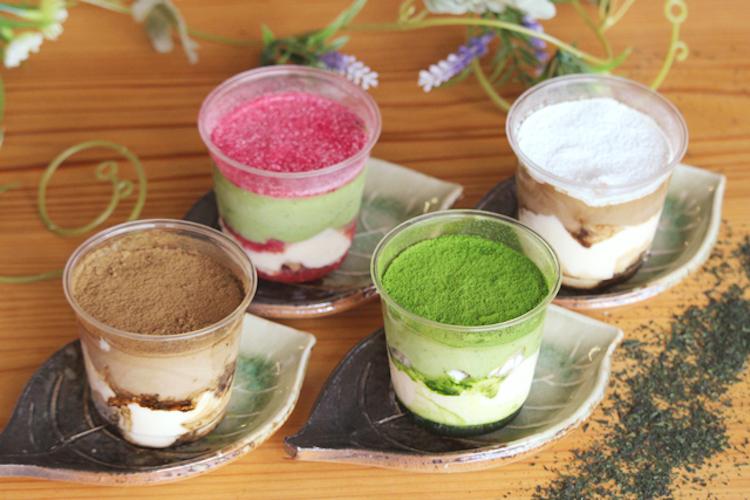 濃厚茶葉のティラミス4種食べ比べセット