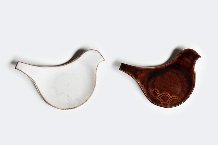 圭秀窯|豆皿 とり