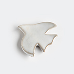 圭秀窯|箸置き とり 白