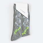 POTTENBURN TOHKII|KAMINARI SOCKS GRAY