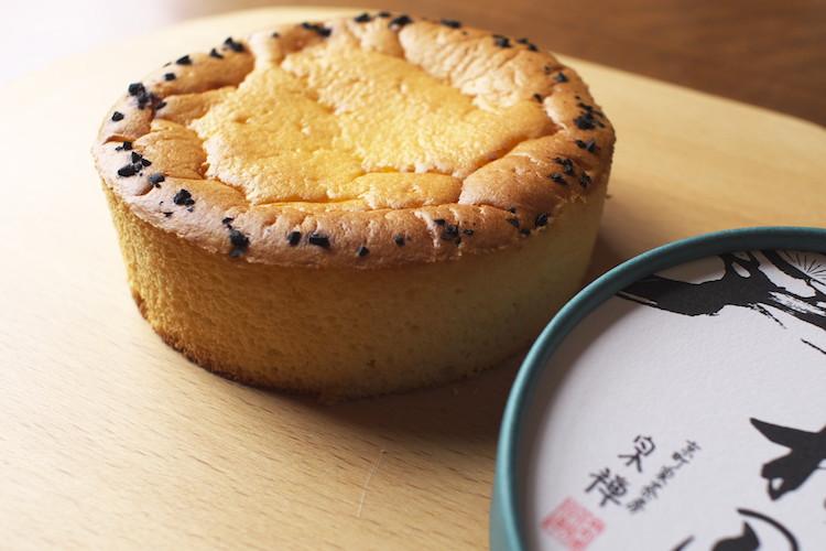 和のチーズケーキ「半熟松風」
